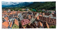 Fussen - Bavaria - Germany Beach Towel by Gary Whitton