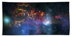 Galactic Storm Beach Towel by Jennifer Rondinelli Reilly - Fine Art Photography