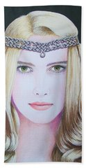 Galadriel Of Lothlorien Beach Towel