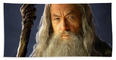 Gandalf Beach Towel