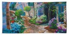 Garden Courtyard Beach Sheet