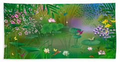 Garden - Limited Edition 1 Of 20 Beach Towel