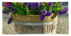 Garden In A Bucket Beach Towel