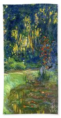 Garden Of Giverny Beach Towel