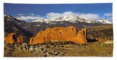 Garden Of The Gods - Colorado Springs Beach Towel