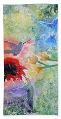 Garden Song Beach Towel