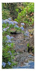 Garden Stream Beach Towel