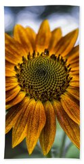 Garden Sunflower Beach Towel