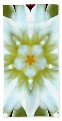 Gardenia Kaleidoscope 1 Beach Towel