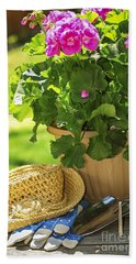 Gardening Beach Towel