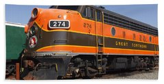 Garibaldi Locomotive Beach Towel