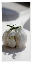 Garlic Clove Beach Towel