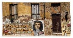 Gaucho Che Promotes Contraception Beach Sheet