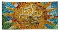 Gaudi Art Beach Towel by Mariusz Czajkowski