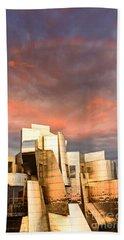 Gehry Rainbow Beach Towel by Joe Mamer