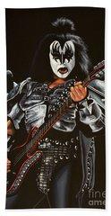 Gene Simmons Of Kiss Beach Sheet