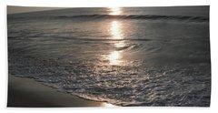 Ocean - Gentle Morning Waves Beach Towel by Susan Carella
