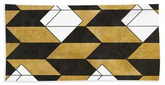 Geo Pattern II Beach Towel