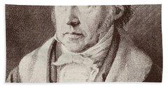 Georg Hegel  Beach Towel