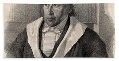Georg Wilhelm Friedrich Hegel Beach Towel