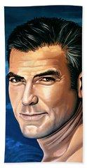 George Clooney 2 Beach Towel