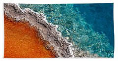 Geothermic Layers Beach Towel by Todd Klassy