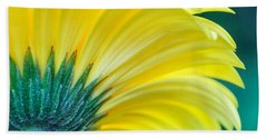 Gerber Daisy Beach Towel