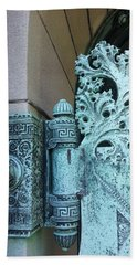Getty Tomb Detail Beach Towel