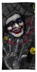 Ghost Harlequin Beach Towel