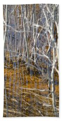 Beach Towel featuring the photograph Ghost Willows by Brian Boyle