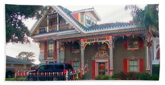 Gingerbread House - Metairie La Beach Sheet