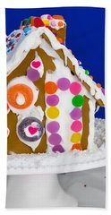 Beach Towel featuring the photograph Gingerbread House by Vizual Studio