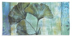 Gingko Spa 2 Beach Towel