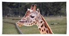 Giraffe 02 Beach Towel
