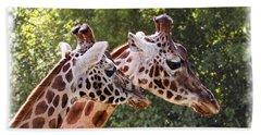 Giraffe 03 Beach Towel