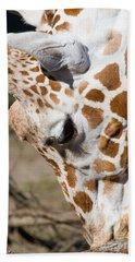 Giraffe 7d8899 Beach Towel