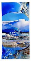 Glacier Beach Towel