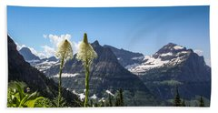 Glacier Grass Beach Towel