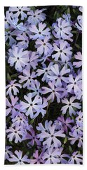 Beach Towel featuring the photograph Glade Phlox by Daniel Reed