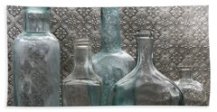 Glass Bottles 1 Beach Towel