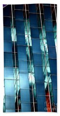 Beach Towel featuring the photograph Glass House II by Christiane Hellner-OBrien