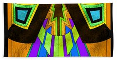 Glass Pattern 5 D Beach Sheet