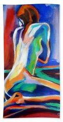 Gleam Beach Towel by Helena Wierzbicki