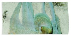 Beach Sheet featuring the photograph Gliding Reef Octopus by Amy McDaniel