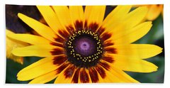 Beach Towel featuring the photograph Gloriosa Daisy by Denyse Duhaime