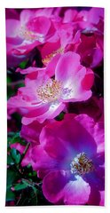 Glorious Blooms Beach Towel