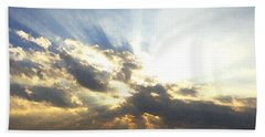 Glorious Rays Of Sunshine Beach Towel