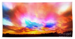Glory Sunset Beach Towel