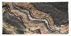 Gneiss Rock  Beach Towel