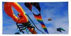 Go Fly A Kite 3 Beach Towel
